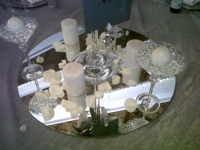 Guest tables 4 Natasha du Bois and Ruan Stander at Cussonia Crest