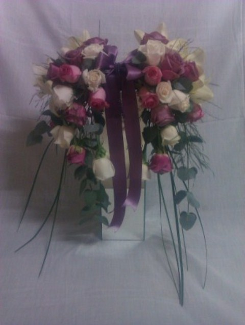 Bruidsgids 2013 Bridal bouquet Advertensie  frontal view