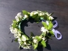 Headband for flower girl Tammy Meydell and Barend at Isiphiwo